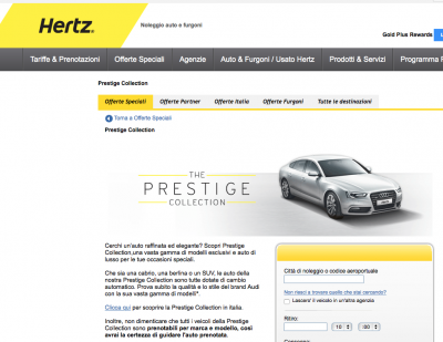 Hertz noleggio