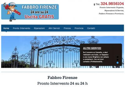 Fabbro a Firenze