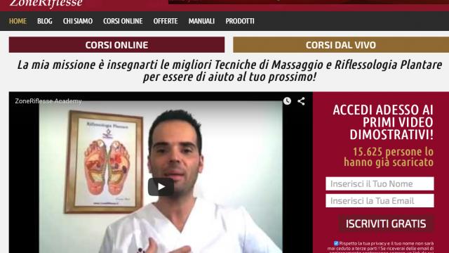 ZoneRiflesse: Corsi Massaggio e Riflessologia online