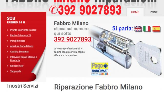 Fabbro Milano centro