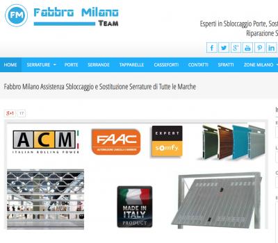 Fabbro Milano S.o.S