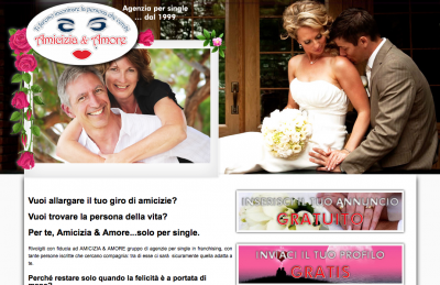 AGENZIA PER SINGLE AMICIZIA & AMORE