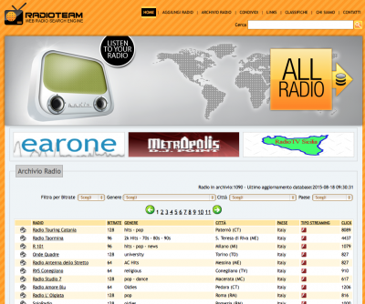 RADIOTEAM – streaming audio