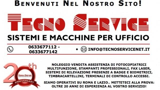 Tecno Service – Noleggio fotocopiatrici e stampanti multifunzione per ufficio