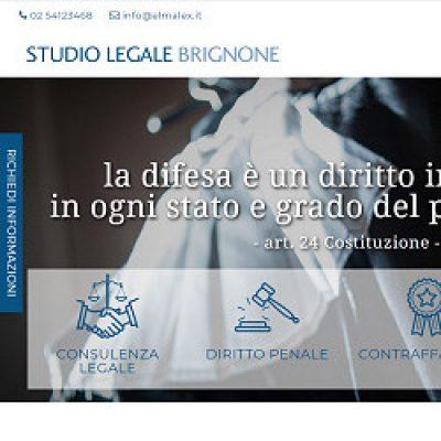 Brignone studio legale penale a Milano