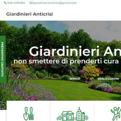 Giardinieri Anticrisi manutenzione giardini e spazi verdi