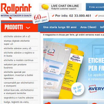 Etichette Rollprint Shop