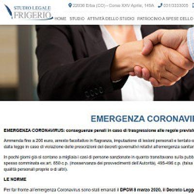Studio Legale Frigerio avvocato diritto civile Como